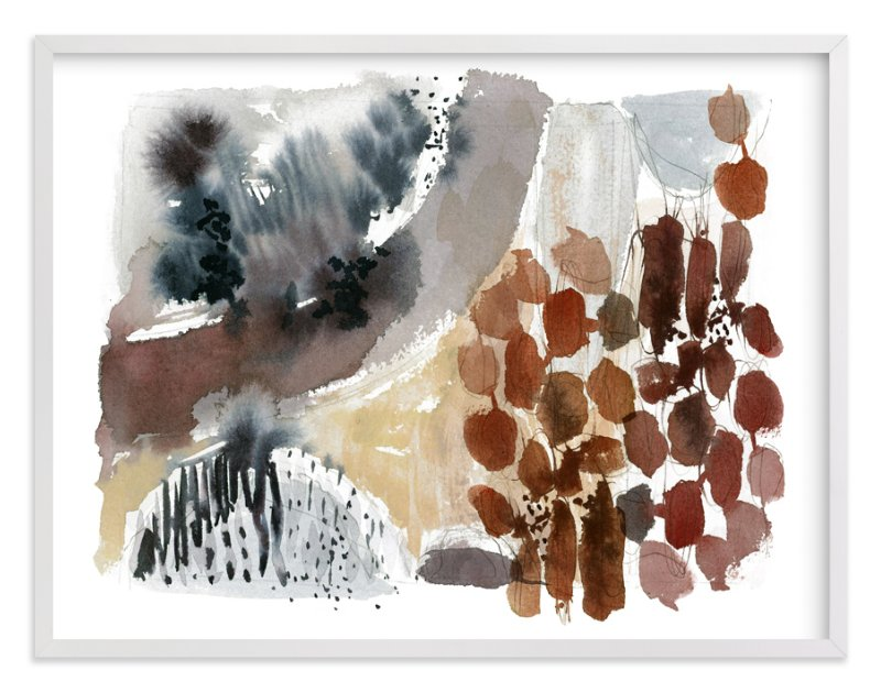 """""""Hushed No. 1"""" - Art Print by Kelly Ventura in beautiful frame options and a variety of sizes."""