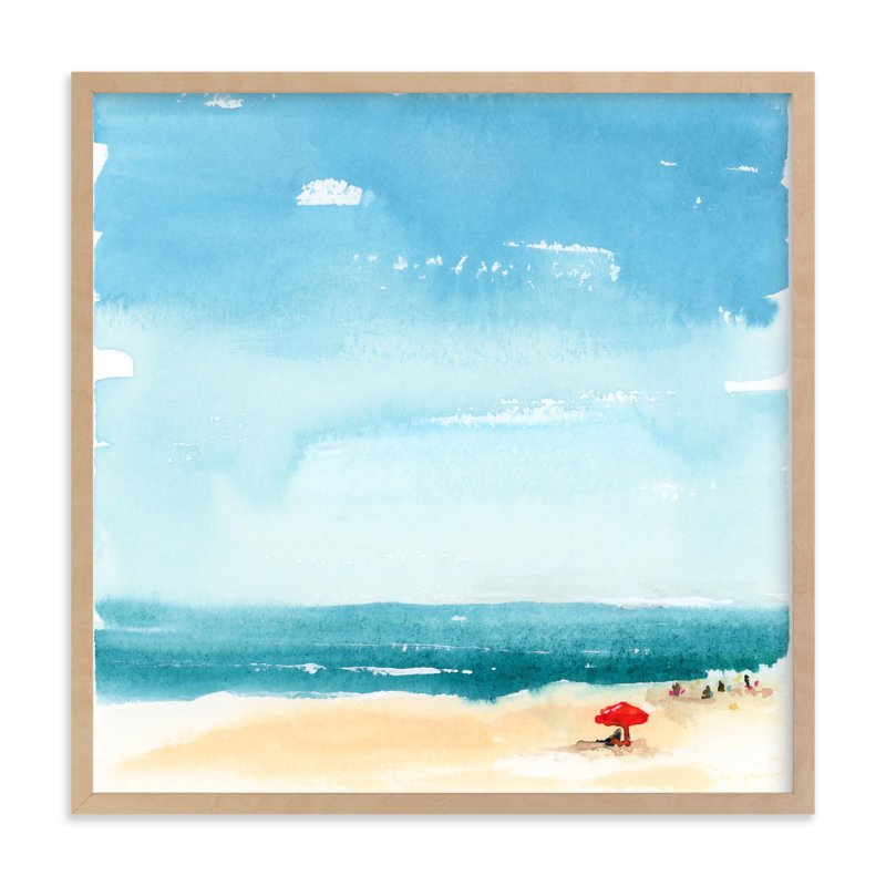"""Weekending"" - Art Print by Lindsay Megahed in beautiful frame options and a variety of sizes."