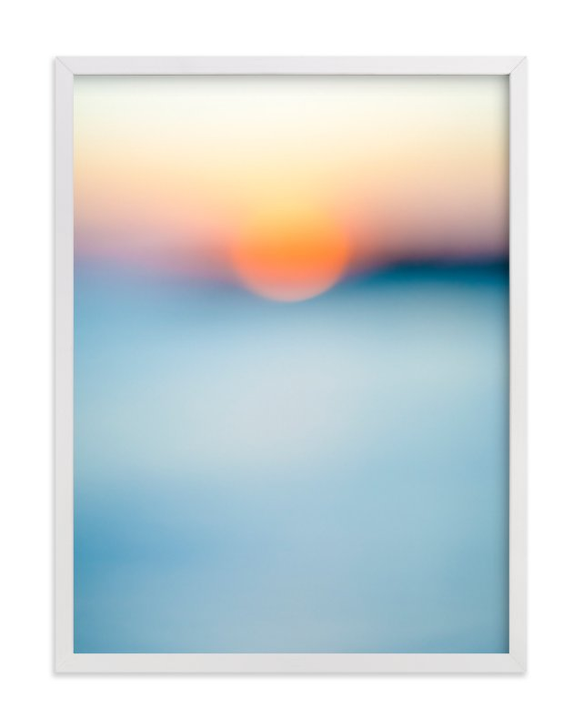 """""""Sunset Study"""" - Limited Edition Art Print by Jessica Cardelucci Nugent in beautiful frame options and a variety of sizes."""