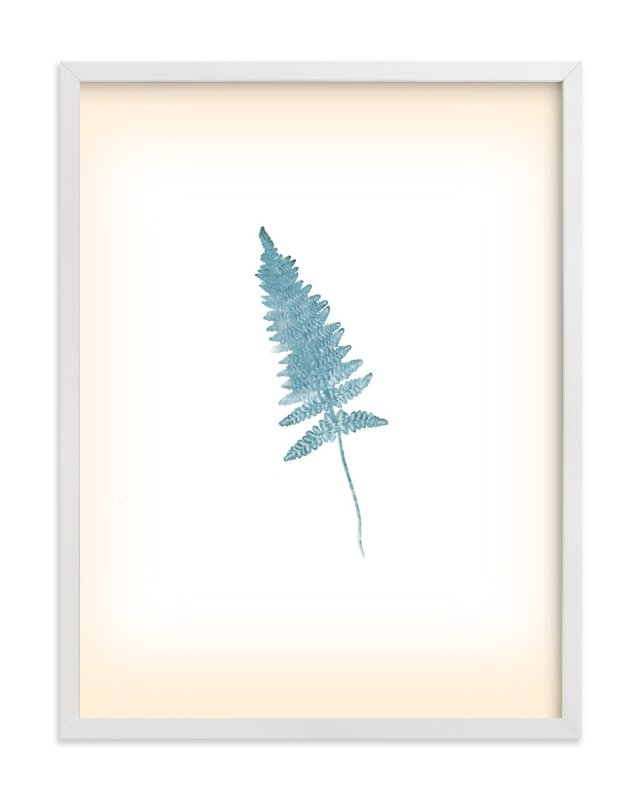 """Baby Fern"" - Art Print by hadley hutton in beautiful frame options and a variety of sizes."
