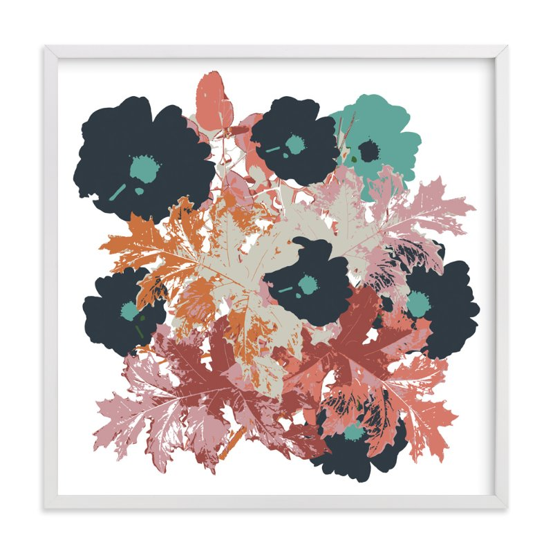 """""""Fall Bouquet"""" - Art Print by Bethania Lima in beautiful frame options and a variety of sizes."""