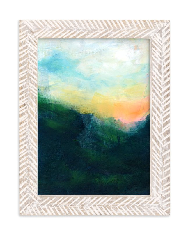 """""""Yonder"""" - Art Print by Lindsay Megahed in beautiful frame options and a variety of sizes."""