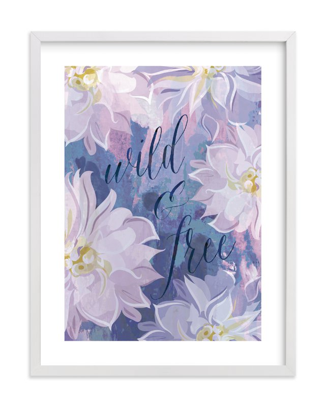 """""""Free & Wild"""" by Susan Moyal in beautiful frame options and a variety of sizes."""