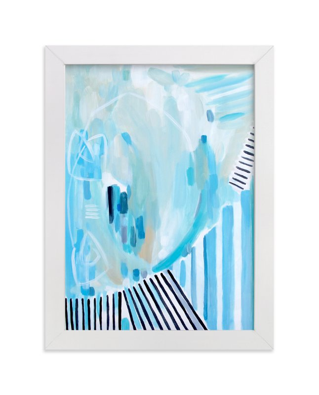 """""""spontaneous"""" - Art Print by jennifer hallock in beautiful frame options and a variety of sizes."""