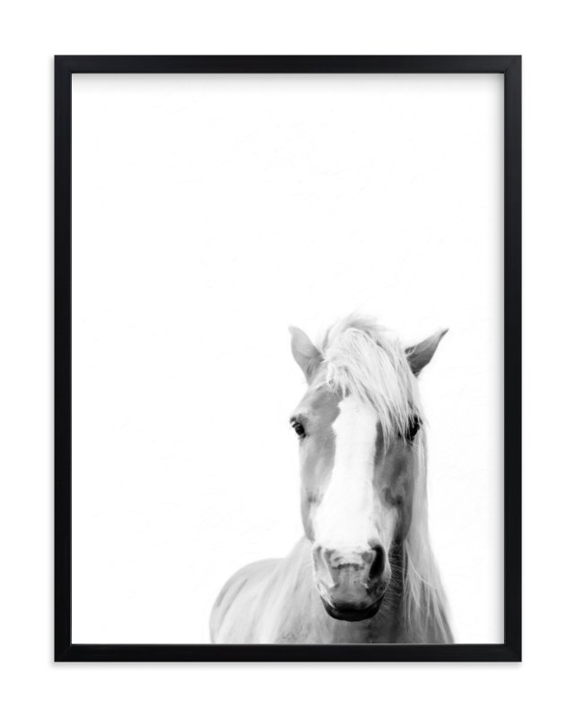 """Presence"" - Art Print by Debra Butler in beautiful frame options and a variety of sizes."