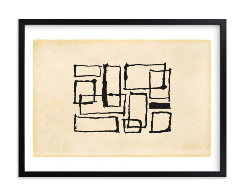 """""""Abtangular"""" - Art Print by Sydney Newsom in beautiful frame options and a variety of sizes."""