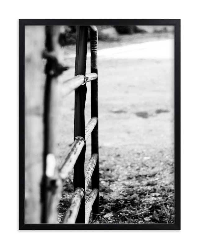 """Open Gate"" - Art Print by Amanda Miller in beautiful frame options and a variety of sizes."