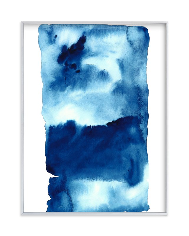"""""""Storm #1"""" - Art Print by Belia Simm in beautiful frame options and a variety of sizes."""
