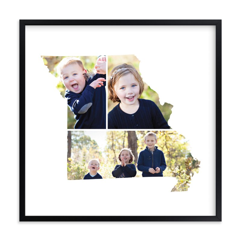 """Missouri Love Location"" - Custom Photo Art Print by Heather Buchma in beautiful frame options and a variety of sizes."