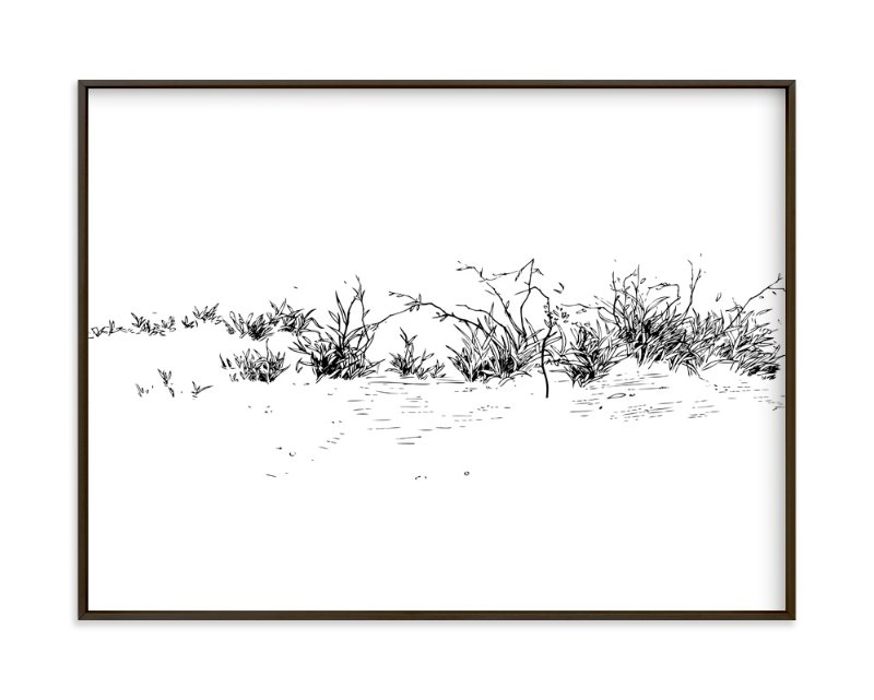 """""""Wild grass"""" - Art Print by Yuke Li in beautiful frame options and a variety of sizes."""