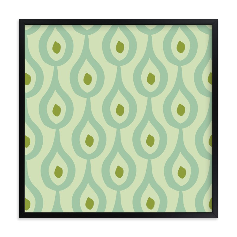 """""""Droplet"""" - Art Print by Stacey Hill in beautiful frame options and a variety of sizes."""
