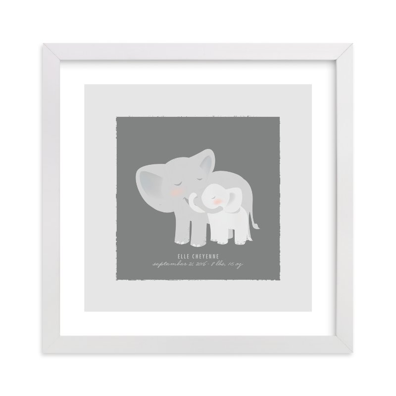 A Mother\'s Love - Elephants Custom Art Prints by Lori Wemple | Minted