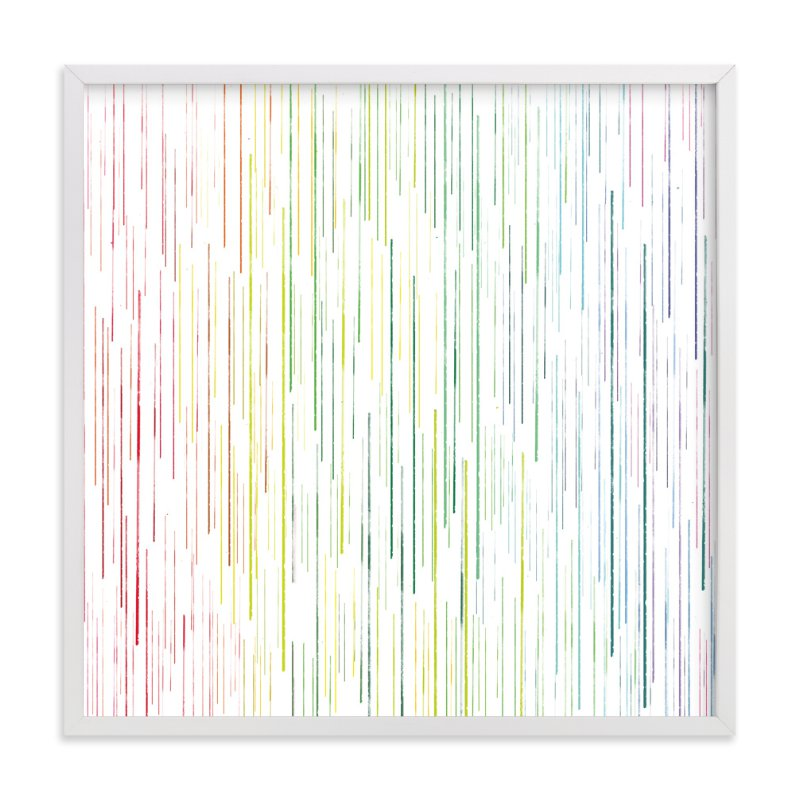 """drips of color"" - Art Print by Smile Peace Love in beautiful frame options and a variety of sizes."