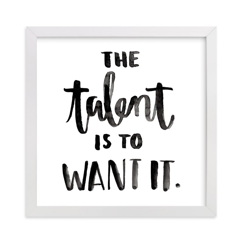 """""""The Talent"""" - Art Print by Briana Goad in beautiful frame options and a variety of sizes."""