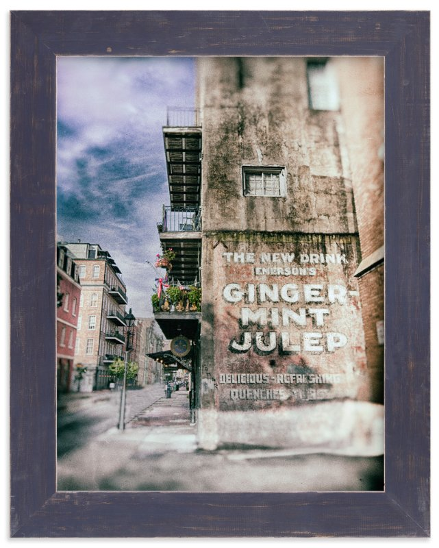 """Ginger Mint Julep"" - Art Print by Mary Ann Glynn-Tusa in beautiful frame options and a variety of sizes."