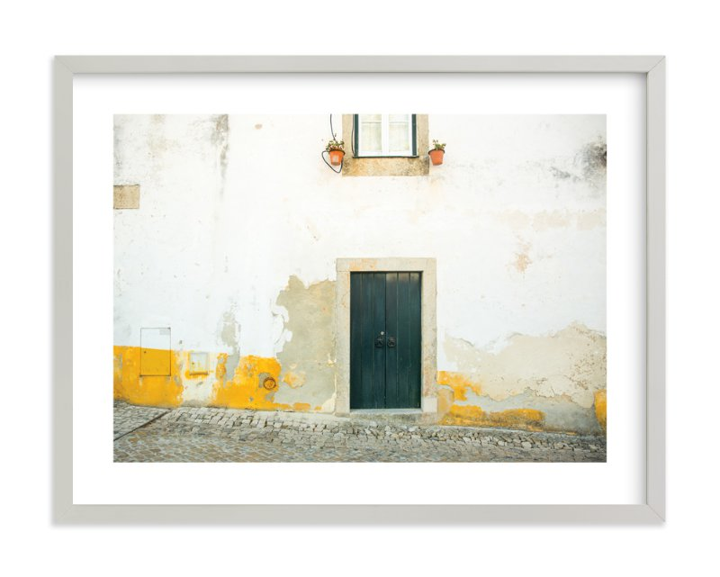 """""""Óbidos"""" - Art Print by Heather Deffense in beautiful frame options and a variety of sizes."""