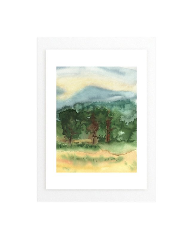 September Trees Donegal Ireland Wall Art Prints By Eva