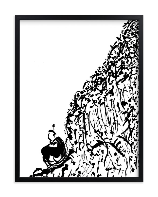 """""""Busy Solitude"""" - Art Print by Stuart Heir in beautiful frame options and a variety of sizes."""