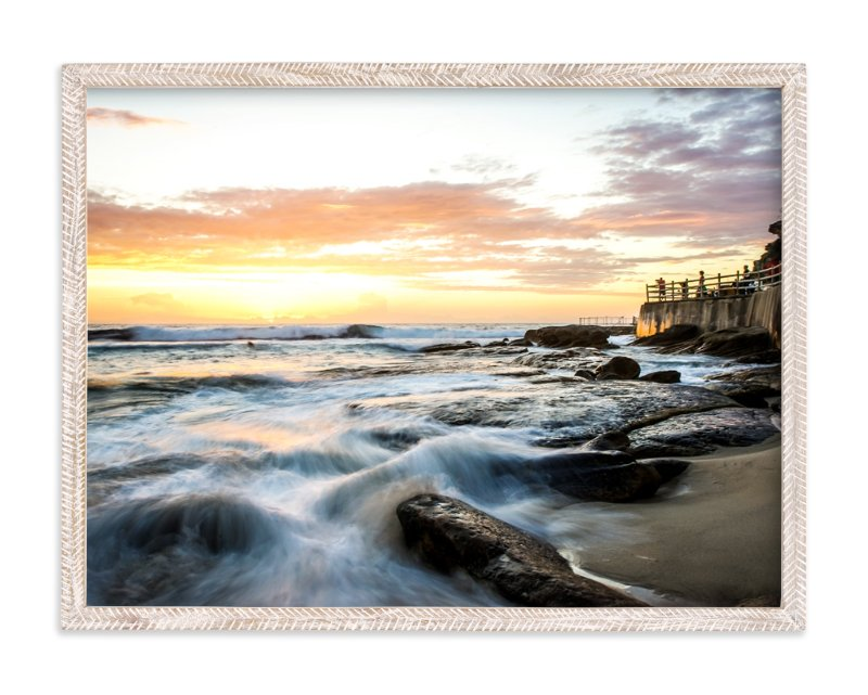 """Sunrise at Bronte"" - Art Print by Hendro Lim in beautiful frame options and a variety of sizes."