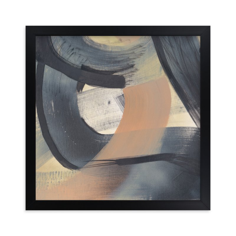 """""""Neutral Roads Series 6"""" - Art Print by Angela Simeone in beautiful frame options and a variety of sizes."""