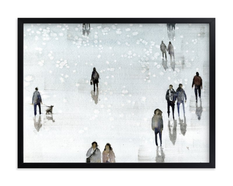 """Melancolia"" - Art Print by Lulaloo in beautiful frame options and a variety of sizes."