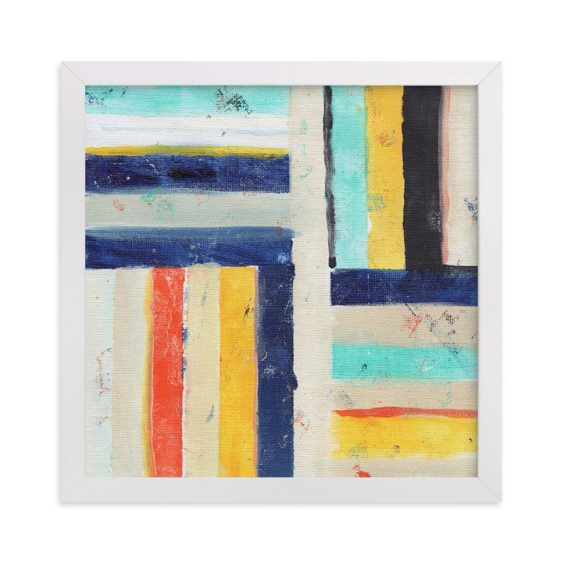 """Junction"" - Art Print by Lindsay Megahed in beautiful frame options and a variety of sizes."