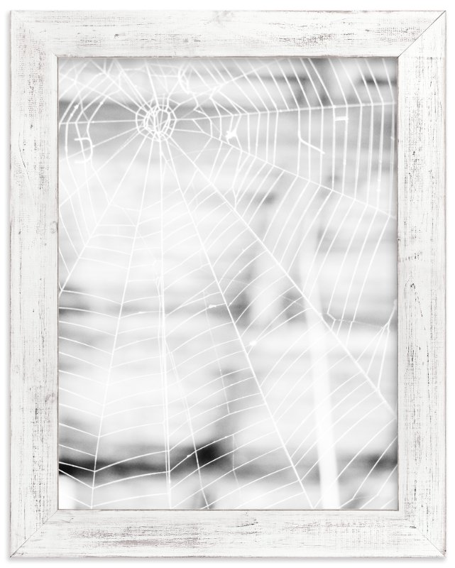 """Gossamer Grid"" - Art Print by Nadia Hassan in beautiful frame options and a variety of sizes."