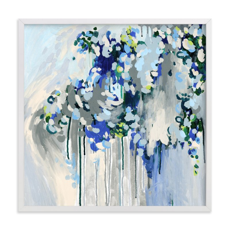 """Noise"" - Art Print by Katie Craig in beautiful frame options and a variety of sizes."