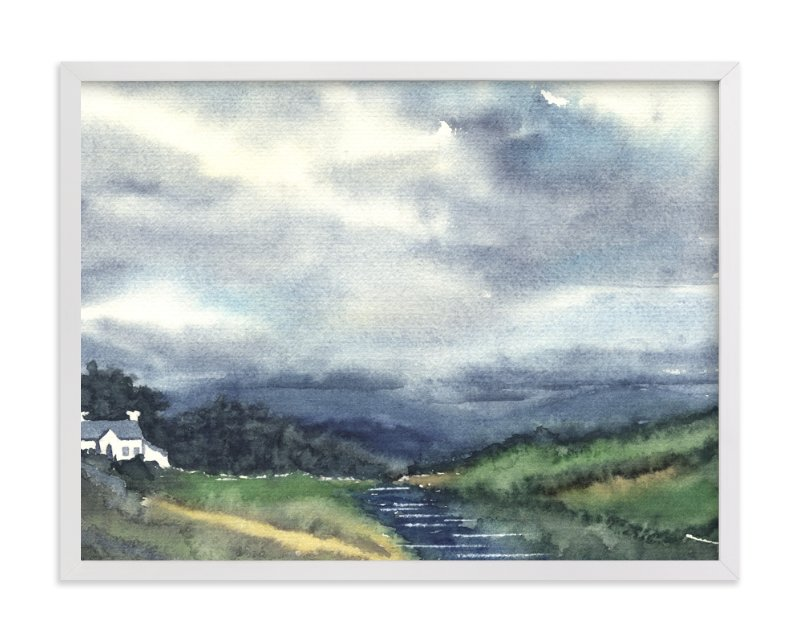 """""""Cloud Symphony Donegal Ireland"""" - Art Print by Eva Marion in beautiful frame options and a variety of sizes."""