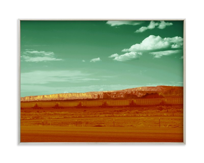 """New Mexico Way"" - Art Print by Eleni Sianis in beautiful frame options and a variety of sizes."