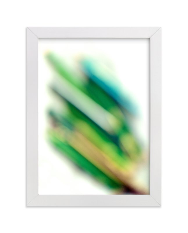 """virescent stack"" - Art Print by Naomi Ernest in beautiful frame options and a variety of sizes."