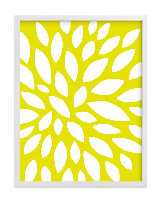 """""""Here Comes the Sun"""" - Art Print by Griffinbell Paper Co. in beautiful frame options and a variety of sizes."""