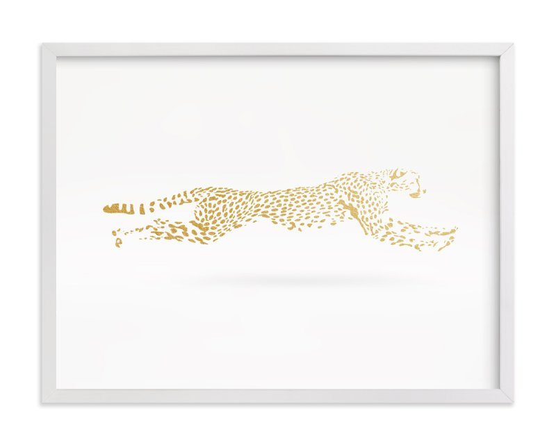 """Golden Gait"" - Limited Edition Art Print by Andrew McClintock in beautiful frame options and a variety of sizes."