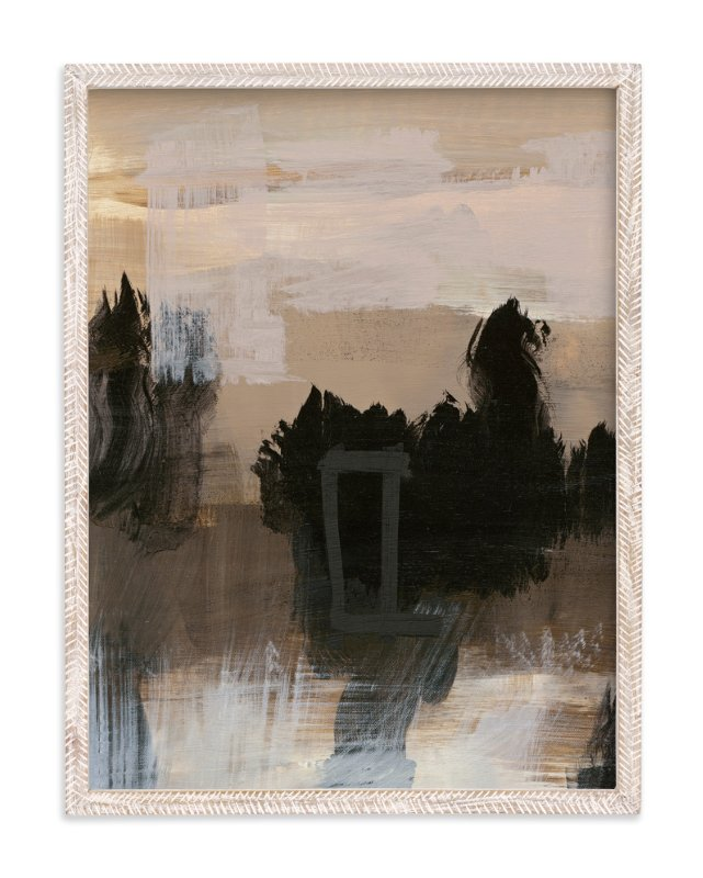 """Deserted Place Series 4"" - Art Print by Angela Simeone in beautiful frame options and a variety of sizes."