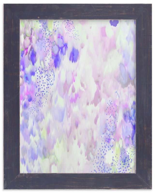 """Falling Petals"" - Art Print by Grace Kreinbrink in beautiful frame options and a variety of sizes."