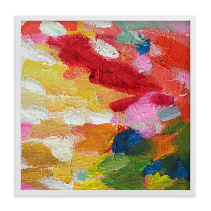 """""""blushed"""" - Art Print by Beth Allen in beautiful frame options and a variety of sizes."""