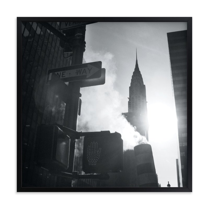"""Empire Haze"" - Art Print by WHALEN in beautiful frame options and a variety of sizes."