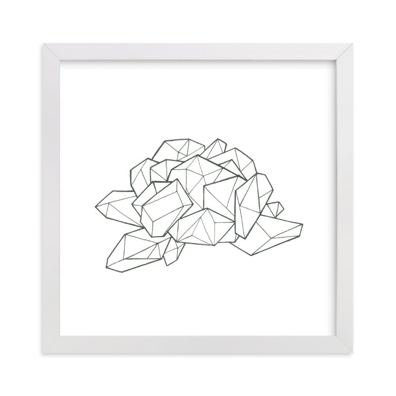 """""""Peony's Breakdown """" - Art Print by Michelle Waldie in beautiful frame options and a variety of sizes."""