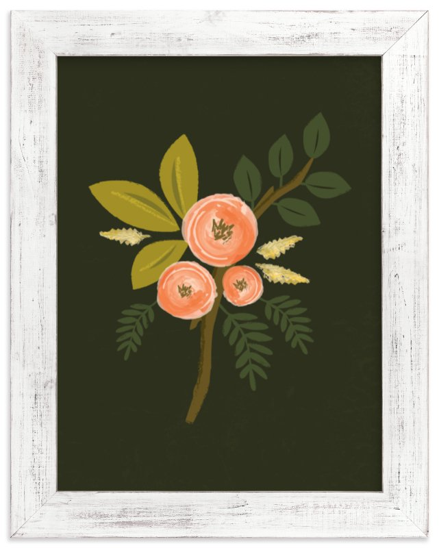 """""""Botanical no.1"""" - Art Print by Karidy Walker in beautiful frame options and a variety of sizes."""