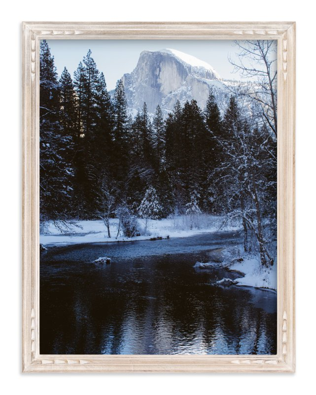 """""""Winter Frost"""" - Art Print by Christian Florin in beautiful frame options and a variety of sizes."""
