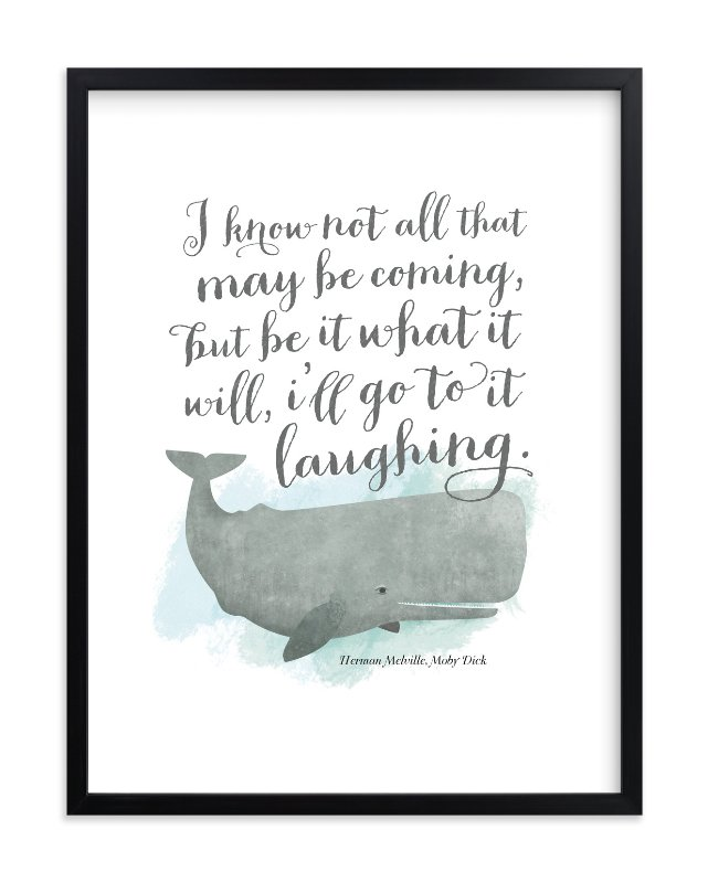 """Go to it Laughing"" - Limited Edition Art Print by Ann Gardner in beautiful frame options and a variety of sizes."