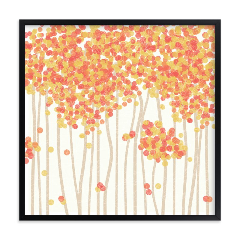 """""""Nature's Confetti"""" - Art Print by Inkblot Paper in beautiful frame options and a variety of sizes."""