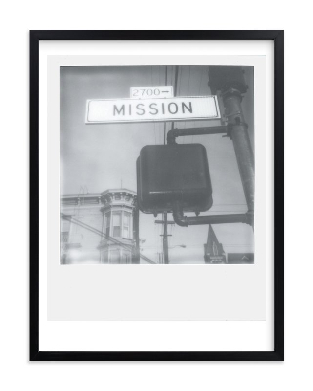 """""""Mission Street"""" - Art Print by Namrata Patel in beautiful frame options and a variety of sizes."""