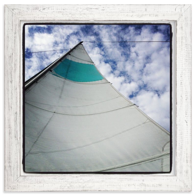 """""""Sail"""" - Art Print by Gaucho Works in beautiful frame options and a variety of sizes."""