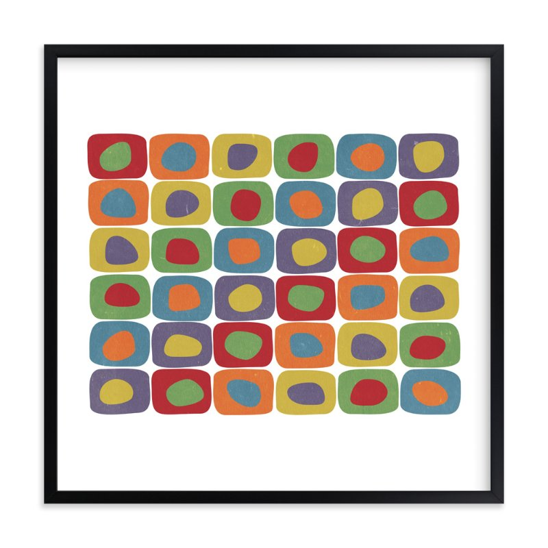 """""""Compliment My Colors"""" - Art Print by roxy in beautiful frame options and a variety of sizes."""