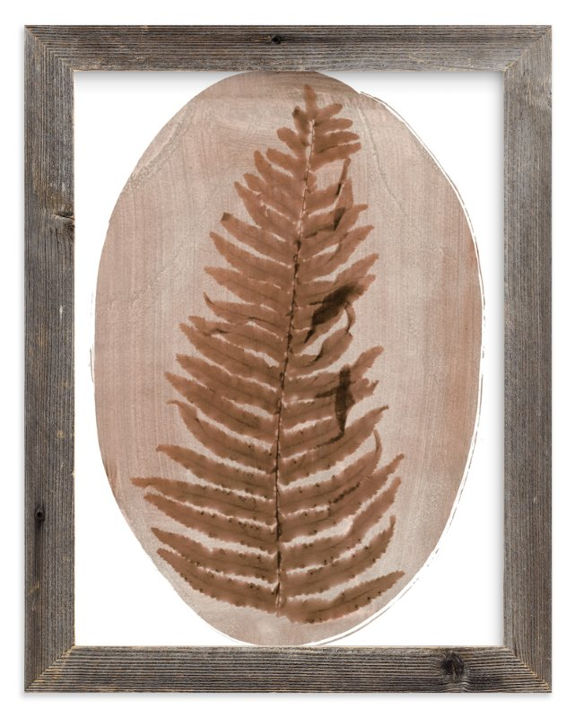 """Fern"" - Art Print by Kelly Nasuta in beautiful frame options and a variety of sizes."
