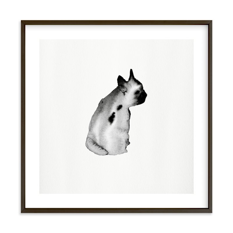"""Dreaming Ted"" - Limited Edition Art Print by jinseikou in beautiful frame options and a variety of sizes."