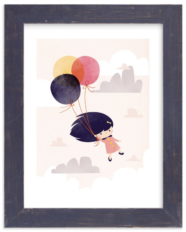 """Floating On Air"" - Art Print by Lori Wemple in beautiful frame options and a variety of sizes."
