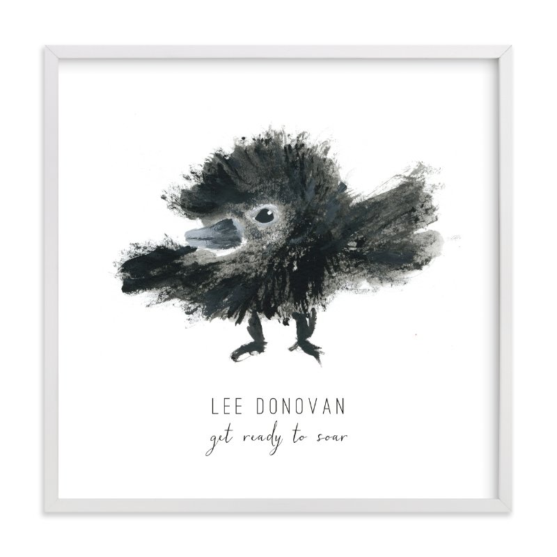 """""""Ready to Fly"""" - Children's Custom Art Print by Simona Cavallaro in beautiful frame options and a variety of sizes."""