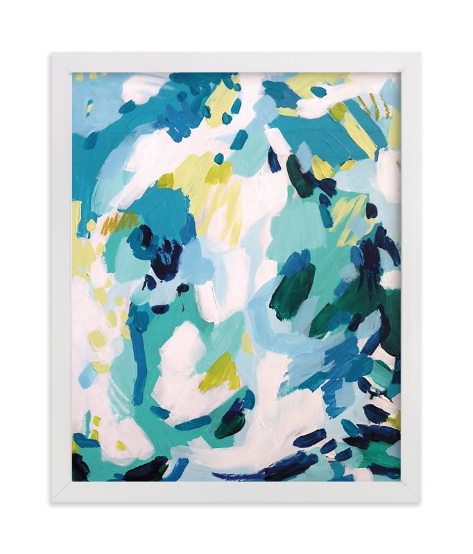 """""""Dash"""" - Limited Edition Art Print by Katie Craig in beautiful frame options and a variety of sizes."""